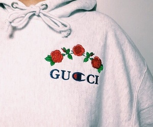 gucci, fashion, and rose image