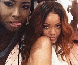 rihanna, selfie, and brownanna image