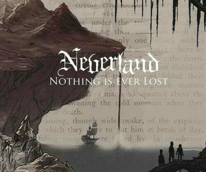 neverland, peter pan, and quote image