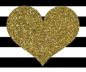 heart, background, and glitter image
