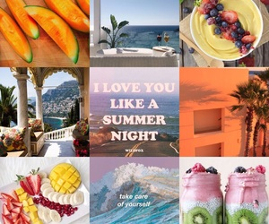 bright, summer, and fruit image