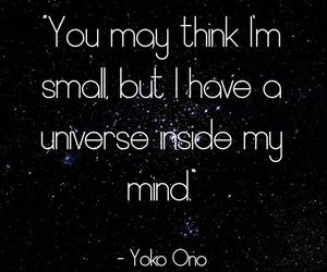 universe and YokoOno image