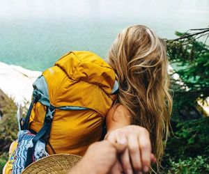 couple, love, and adventure image