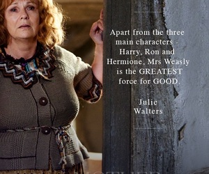 harry potter, Julie Walters, and molly weasley image
