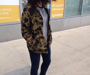 army, jacket, and skinny image