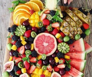 colorfull, fruit, and eat image