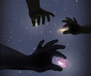 galaxy, stars, and Dream image