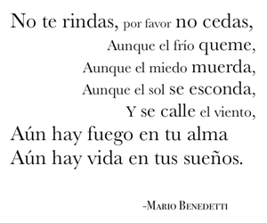 mario benedetti, Dream, and frases image
