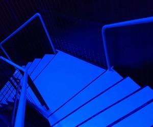 blue, inde, and light image
