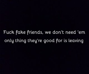 bad, friend, and friendship image