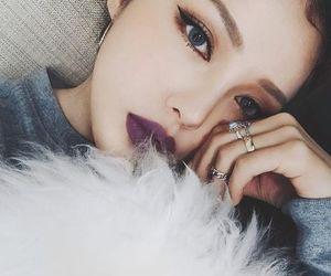 makeup, pony, and beauty image