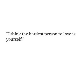 love, quotes, and yourself image