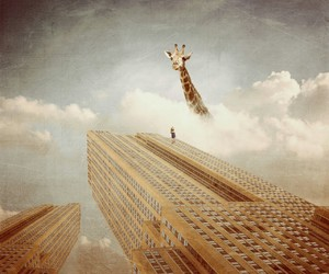 fiction, walli, and giraffe image