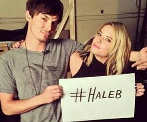 haleb, pretty little liars, and ashley benson image