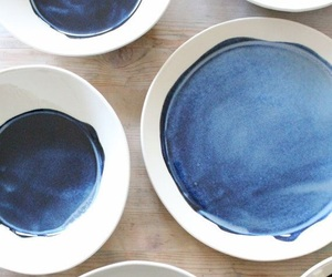 blue and plates image