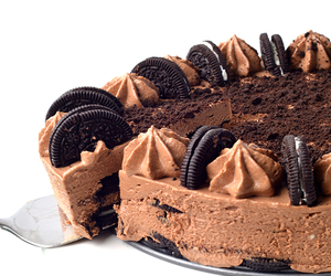 cheesecake, desserts, and chocolate image