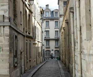 city, street, and building image