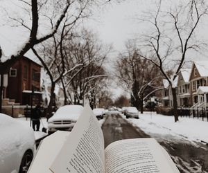 book and winter image