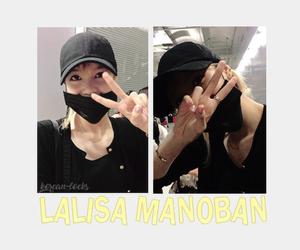 kpop, kpop lockscreens, and lisa manoban image