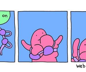 cartoon, comic strip, and humor image