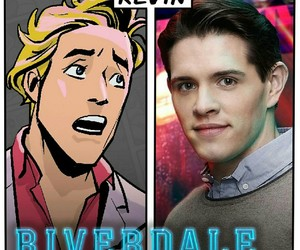 riverdale, kevin, and casey cott image