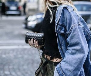 girl, streetstyle, and luxury image