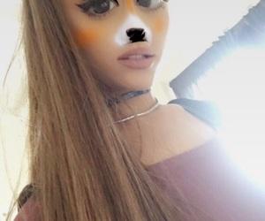 ariana grande, moonlightbae, and snapchat image