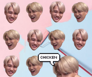 Chen, Chicken, and exo image