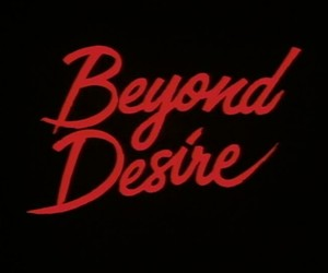 red, black, and desire image