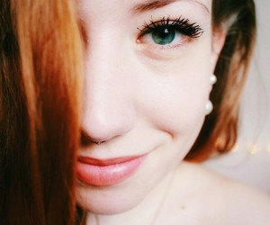 canon, ginger, and green eyes image
