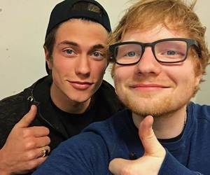 ed sheeran and benji mascolo image