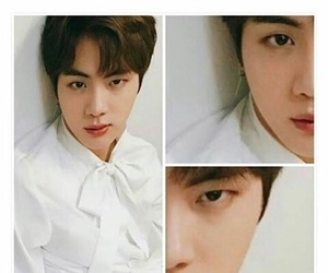 jin, bts, and funny image