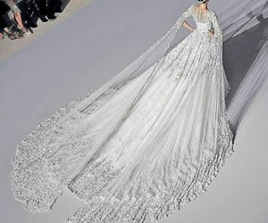 dress, fashion, and white dream image