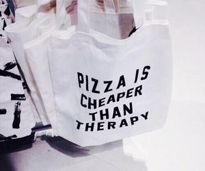 pizza, bag, and tumblr image