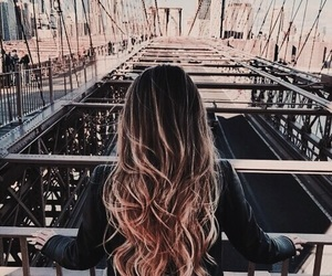 girl, travel, and rose gold image
