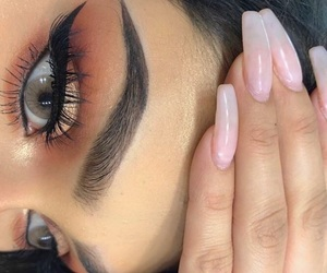 beauty, nails, and eyebrows image