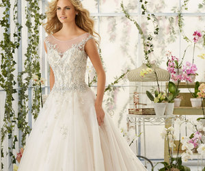 bride, fashion, and princess image