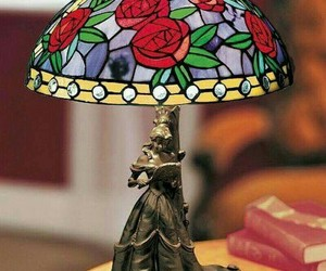 book, rose, and belle image