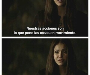 frases, the vampire diaries, and elena gilbert image