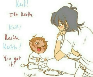 fan art, keith, and lance image