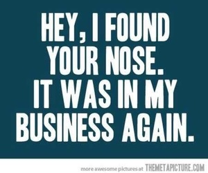 quotes, business, and nose image