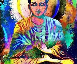 Buddha and peace image