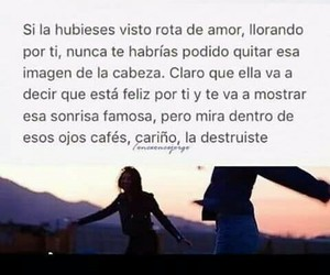 love, desamor, and frases image
