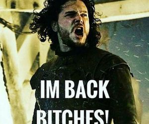 game of thrones and jon snow image