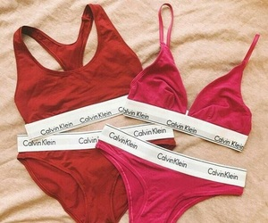red, Calvin Klein, and pink image