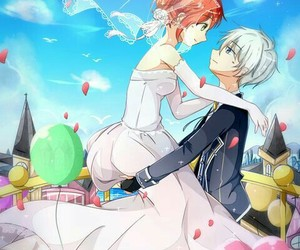 fan art, wedding, and anime couple image