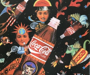 80s, art, and coca image