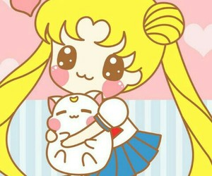 sailor moon, kawaii, and cute image
