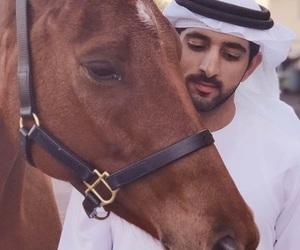arab, Dubai, and horse image