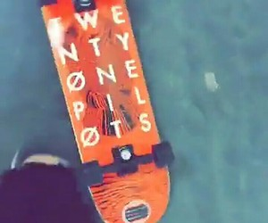 cool, skateboard, and josh dun image
